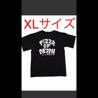 ハイスタンダード(HIGH!STANDARD)の【新品 人気の黒 】PIZZA OF DEATH Tシャツ(ミュージシャン)