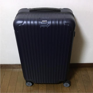 リモワ(RIMOWA)の新品 6/3日まで RIMOWA SALSA リモワ サルサ 58L ドイツ購入(トラベルバッグ/スーツケース)