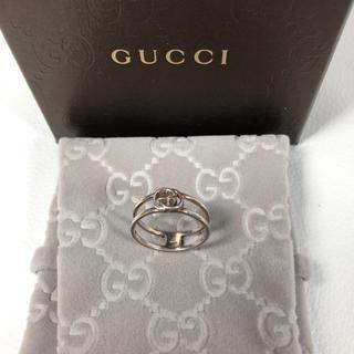 グッチ(Gucci)の❤️美品 GUCCI リング 正規品 鑑定済み❤️(リング(指輪))