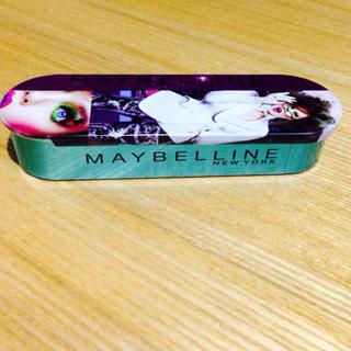メイベリン(MAYBELLINE)のMAYBELLINE缶ケース(ポーチ)
