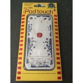 アイポッドタッチ(iPod touch)の●藤本電業 iPod touch 5,6 クリアハードケース エンジェル●(その他)