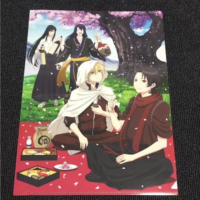 刀剣乱舞 クリアファイル 花丸 花丸宴会 エンタメ/ホビーのアニメグッズ(クリアファイル)の商品写真