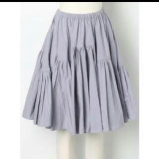 デイシー(deicy)のme&me couture タイプライターボリュームスカート(ひざ丈スカート)