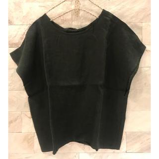スティールエコンフォール(style+confort)のスティールエコンフォールstyle+confort後ろリボンプルオーバーブラウス(シャツ/ブラウス(半袖/袖なし))