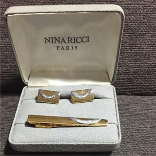 ニナリッチ(NINA RICCI)の【良品】NINA RICCI ネクタイピンカフスセット(ネクタイピン)
