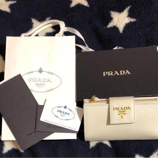 プラダ(PRADA)のPRADA サフィアーノ 財布(財布)
