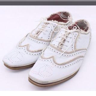 ドルチェアンドガッバーナ(DOLCE&GABBANA)のドルガバ革靴(ローファー/革靴)