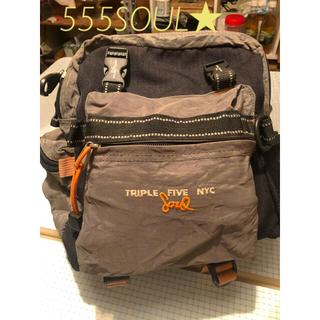 トリプルファイブソウル(555SOUL)の【TRIPL 5 SOUL★】TRIPLE FIVE NYC ★3WAYバッグ(リュック/バックパック)
