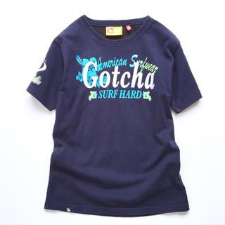 USEDタイムセール❣️ガッチャ❣️インパクト刺繍入り Tシャツ サイズ150