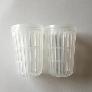 ムジルシリョウヒン(MUJI (無印良品))の無印 アクリル冷水筒 冷水専用約1ℓ ストレナー 2個セット(容器)