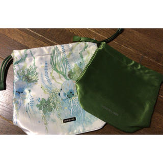 ドゥラメール(DE LA MER)のDe La Mer/ドゥ・ラ・メール  非売品 巾着型ポーチ2種(ポーチ)