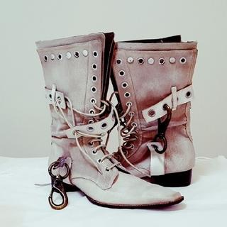 サバト(SABATO)の《美品》SABATO  本革ブーツ(ブーツ)