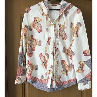 d404d60829d0 ピンクハウス(PINK HOUSE)のピンクハウス クマ柄フード付きシャツ(シャツ