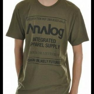 アナログクロージング(Analog Clothing)の♪新品 アナログ ANALOG Tシャツ♪(ウエア/装備)