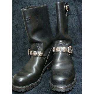 クロムハーツ×ウエスコWescoカスタムボスエンジニアレザーブーツPT99(ブーツ)