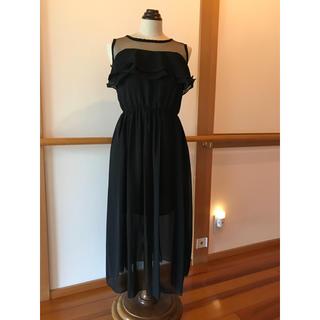 シモーヌリスト(SIMONE LIST)のブラックドレス(その他ドレス)