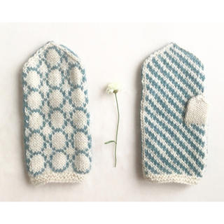 北欧ミトン手袋メリノウール(手袋)