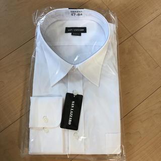 専用☆新品☆白カッターシャツ 長袖 47-84(Tシャツ/カットソー(七分/長袖))