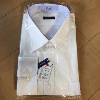 新品☆白カッターシャツ 長袖 47-84(シャツ/ブラウス(長袖/七分))
