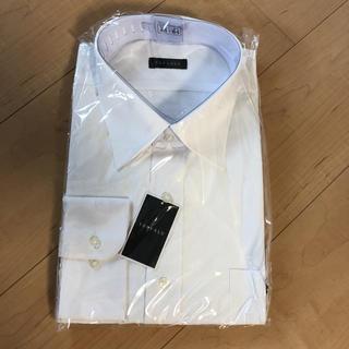 東中様専用!新品☆白カッターシャツ 長袖 45-84(シャツ)