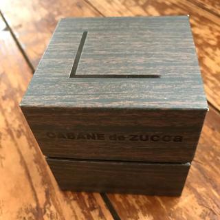 ZUCCAの時計の入っていた箱