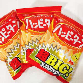 カメダセイカ(亀田製菓)のハッピーターンBIGパック3袋✳︎お得✳︎(菓子/デザート)
