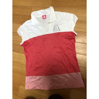 パーリーゲイツ(PEARLY GATES)のアルチビオ 1回のみ着用  Tシャツ カットソー フリル 36 スワロ(ウエア)