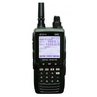 エーオーアール(aor)のAR-DV10 デジタル 受信機 100kHz〜1300MHz AOR(アマチュア無線)