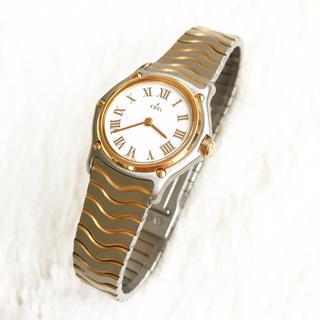 エベル(EBEL)の美品☆ 電池交換込み エベル スポーツクラシック 18金ベゼル(腕時計)