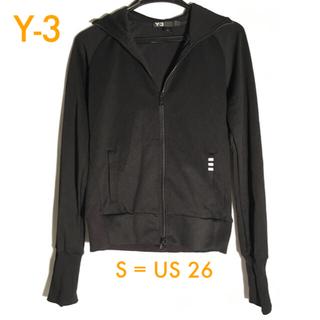 ワイスリー(Y-3)の🌟極美🌟 Y-3 トラック フード ジャケット ブラック サイズ S(パーカー)