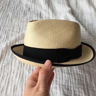 パナマハット(Panama Hat)のパナマハット 麦わら帽子 ハワイ CARLUDOVICA 田丸麻紀(麦わら帽子/ストローハット)