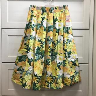 シマムラ(しまむら)の新品タグ付き しまむら🌸花柄 スカート(ひざ丈スカート)
