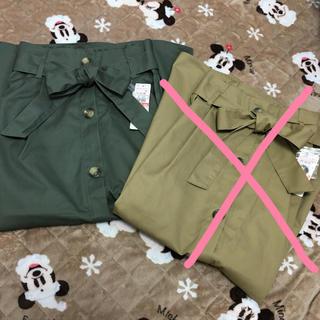 シマムラ(しまむら)の専用🌸新品 しまむら🌸アースミュージックアンドエコロジー  トレンチスカート(ロングスカート)