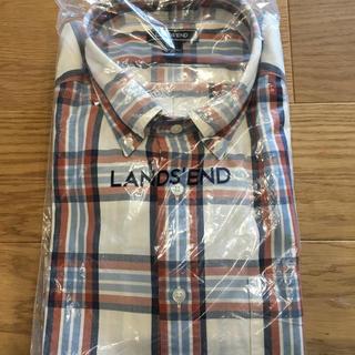 ランズエンド(LANDS'END)のチェックシャツ  (シャツ)