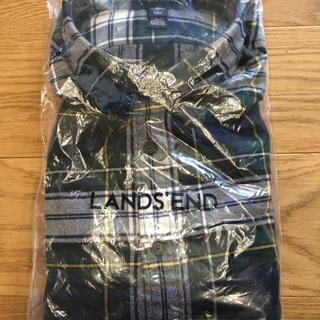 ランズエンド(LANDS'END)のチェックシャツ(シャツ)