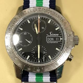 シン(SINN)の【かぼちゃんさま】ジン Sinn 303 自動巻き バルジュー7750搭載(腕時計(アナログ))