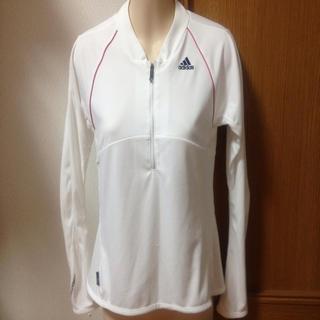 アディダス(adidas)の❤adidas❤白ロンT(Tシャツ(長袖/七分))