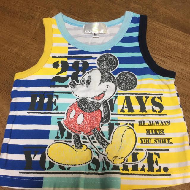 Disney(ディズニー)のDisney baby タンクトップ 80 キッズ/ベビー/マタニティのベビー服(~85cm)(タンクトップ/キャミソール)の商品写真