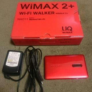 エヌイーシー(NEC)のWiMAX2+ NAD11 付属品あり(PC周辺機器)