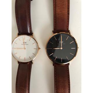 ダニエルウェリントン(Daniel Wellington)のダニエルウェリントン ペア時計(腕時計(アナログ))