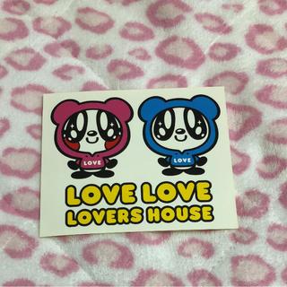 LOVERS HOUSE ラバーズハウス ステッカー