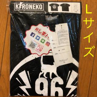 シマムラ(しまむら)の新品 96猫 Tシャツ 黒 Lサイズ しまむら 限定品/希少 クロネコ 96NK(ミュージシャン)