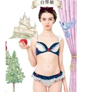 フェリシモ(FELISSIMO)のなりきり白雪姫ブラ B70/M(ブラ&ショーツセット)
