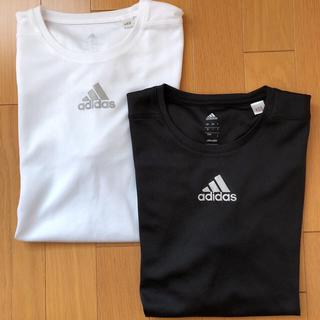 アディダス(adidas)のadidas T シャツ(Tシャツ/カットソー(七分/長袖))