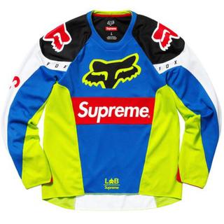 シュプリーム(Supreme)のSupreme®/Fox Racing® Moto Jersey Top L(Tシャツ/カットソー(七分/長袖))