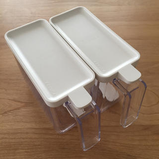 ムジルシリョウヒン(MUJI (無印良品))のKEYUCA ケユカ 調味料入れ 調味料ケース スリム(容器)