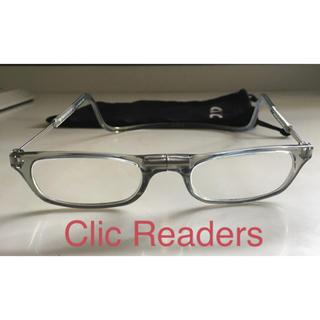 クリックリーダー(Clic Readers)の老眼鏡 クリックリーダー(サングラス/メガネ)
