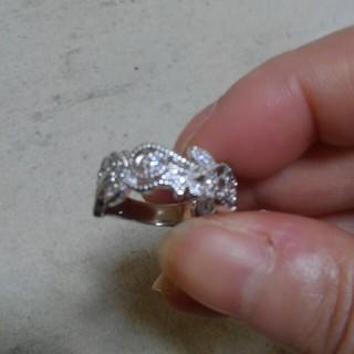 エレガントな指輪シルバー(リング(指輪))