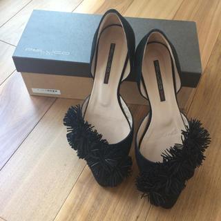 ペリーコ(PELLICO)の【新品未使用】ペリーコサニー フリンジ フラットシューズ(ローファー/革靴)
