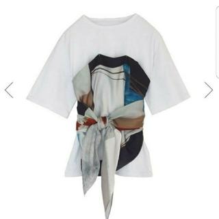 アメリヴィンテージ(Ameri VINTAGE)の新品タグ付き★アメリヴィンテージ トップス アンバーTEE(Tシャツ(半袖/袖なし))